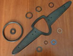 Gaskets and other rubber-technical products