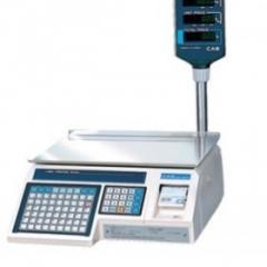 Scales chekopechatayushchy LP/1.6 (CAS)