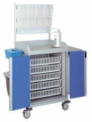 Transport carts for medical institutions