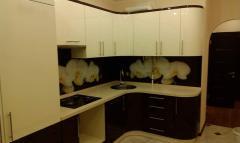 Кухня белая Орхидея, кухня под заказ, Кухня. Кухни