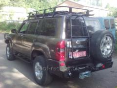 Forwarding luggage carrier of Nissan Patrol