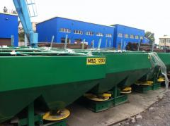 Hinged spreader of min. fertilizers Ministry of