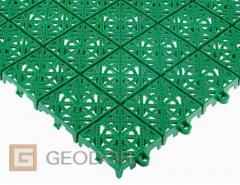 Modular plastic coverings of GEODOR. STEP covering