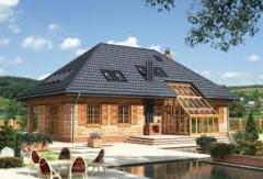 Namiotowy dach domu