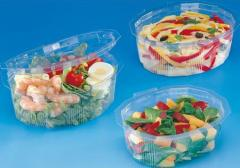 Containers from food Multipack France plastic, the