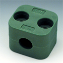 Brackets for fastening of pipes, an easy series,