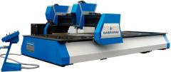 Machines for gas-plasma cutting of metals