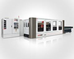 Machine of laser cutting of sheet metal