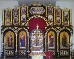 Православний іконостас з дерева