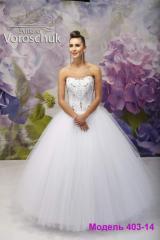 Wedding dress, model 403 SALE
