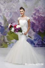 Wedding dress, model 421