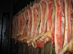 Охлажденное мясо.