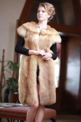 The vest a vest from a fox length is 100 cm Kiev