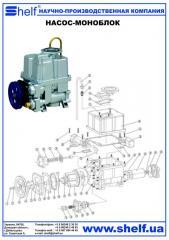 Pump monoblock pump