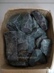 Камень для бани габбро-диабаз Колотый 50*150...