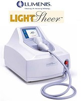 The system for laser epilation of LightSheer ET,