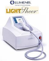 The system for laser epilation of LightSheer ET,