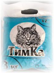 Гігієнічний деревний наповнювач для котячих лотків