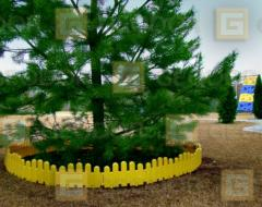 Decorative plastic small fences