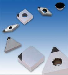 Plates hard-alloy of cubic nitride of CBN ISCAR