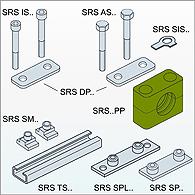 Скобы, хомуты, зажимы  для крепления труб наружным диаметром от 6 до 220 мм.