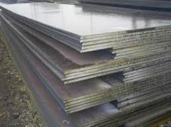 Hot rolling 2,0-3,9 mm thick in sheets