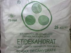 Borax 5 ti water, 10 ti water