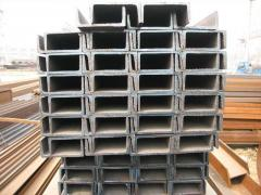 Channels from the low-alloyed steel to buy