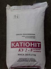 KU-2-8 cation exchanger, KU 2 8 Cation exchanger,