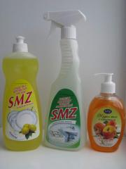 Detergents of the SMZ trademark