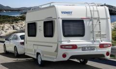 Жилые прицепы Fendt. Модель Bianco Sportivo 390 FH