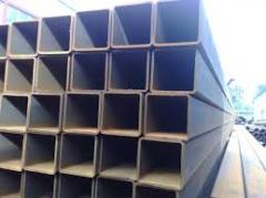 Pipes are steel square, Pipes steel square from