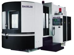 The horizontal processing DAHLIH center the MCH-630 model with ChPU Fanucavtomatichesky a relief a pallet the Action! Discounts to 20%
