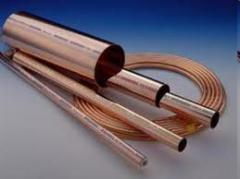 Tubes copper and brass thin-walled, copper and
