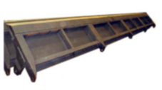 Boards and front walls for all types of dumpkar.