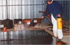 Упрочнитель, пропитка бетона (промышленный пол)