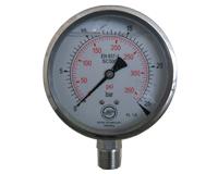 El manómetro DN 100 mm MANOMETER DN 100 mm los
