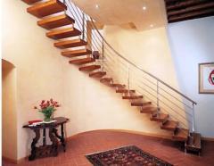 Архітектурні сходи для котеджів