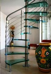 Spiral staircases ready