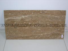 Travertine dark-beige, travertine tile