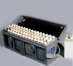 Accumulators silver-zinc 15STsS-45B for an air