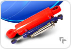 Hydraulic cylinders are plunger