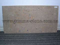 Stone a volcanic tufa, a tile from a tufa