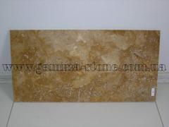 Natural finishing stones tufa, travetin, basal