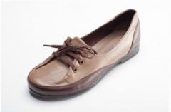 Туфли женские кожанные