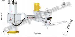 The polishing machine for MS-2600 stone