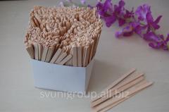 Мешалка одноразовая деревянная для горячих