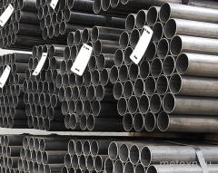 Pipes are steel seamless hot-rolled, steel