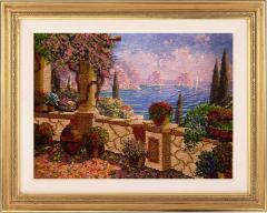 """Pictures from beads """"A view of the gulf"""