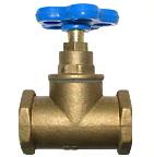 Вентили латунные PN = 16 кг/см2  для воды t 75 С с